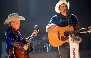 Brad Paisley & Little Jimmy Dickens - Photo courtesy of Getty Images