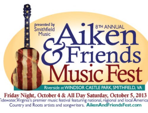 8th Annual Smithfield Music's Aiken & Friends Fest To Benefit Youth Music Education